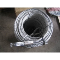 Cheap Thimble On Both Ends 2.46t Wire Rope Cable Slings for sale