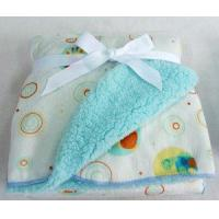 Cheap Printed Super Plush Blanket/ Baby Blanket for sale