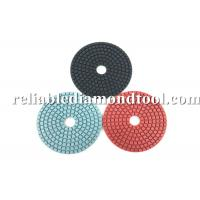 Cheap Diamond Grit Polishing Pads ISO TUV 4 Inch Buffing Pads Working With Water for sale