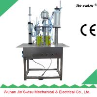 Cheap 3 in 1 tables  type Aerosol can spray filling machine for sale