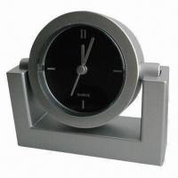 Cheap Home and Office Plastic Table Alarm Clock, Ideal for Promotional Purposes for sale