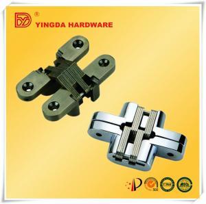 China Best selling Planar Cross Hidden Door Hinges/ Cabinet Concealed Hinge on sale