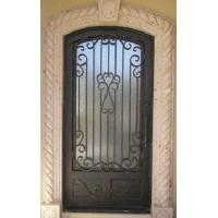 Cheap Wrought iron double entry doors for sale