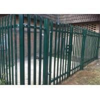 Cheap Powder Coated or Galvanized W D Section Palisade Security Fence for sale