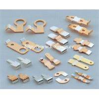 Cheap Brass Parts Of Welding Machine / Electrical Stamped Metal Parts For Starter for sale