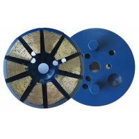 "Cheap 3"" Inch 10 Diamond 8mm(H)Segments Metal Bond Diamond Grinding Discs for Concrete Polishing wholesale"