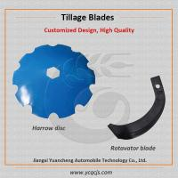 Cheap John Deere Concave Power Harrow Disc Blade, Small Tractor Rotavator Blade for sale