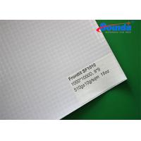 China Water Proof Custom Fabric Banners , 510g/sqm Weight Frontlit Blank Banner Material on sale