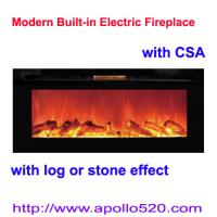 Cheap Log Flame Effect Electric Fireplace for sale