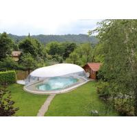 China Commercial Inflatable Transparent 8m Swimming Pool Dome Cover tent on sale