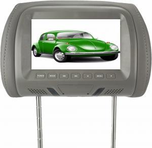 Cheap 7'' Wide Screen Headrest Video Monitors , Car Headrest DVD Player Aspect Ratio 16 / 9 for sale