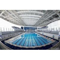 China Low Carbon Prefabricated Steel Structures Steel Bolt Ball Structure Frame Swimming Pool on sale