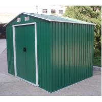 Cheap DIY Apex Metal Shed Steel / Pent Garden Sheds / Carport Shed With Gable Roof 6x4 feet for sale