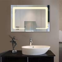 Cheap Luxury Hotel Modern Bathroom Mirrors With Led Lights, Anti Frog for sale