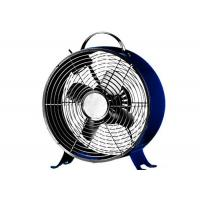 China Mini Retro Table Fan 25W 120V Space Saving Chrome Grill For Home Appliance on sale