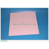 Cheap Ceiling LED Panel PCB , aluminum based fr4 Custom LED PCB double sided for sale