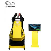 Cheap Interactive 9D VR Car Racing Simulator For Adult / Children 1 Year Warranty for sale
