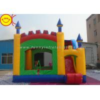 Cheap Durable PVC Commercial Inflatable Bouncers With Slide for Kids for sale