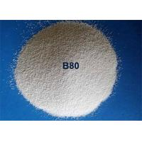 Cheap Durable Efficient Ceramic Bead Blasting Spherical Shape For Steel Descaling for sale