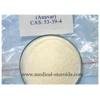 Cheap Oral steroids bodybuilding Powder Oxandrolone Anavar CAS No. 53-39-4 for sale
