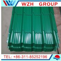 China Coloured Glaze Material and Eaves Tiles Type metal roofing material on sale