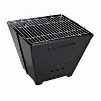 Cheap Foldable Portable BBQ Grill in Barrel Style for sale