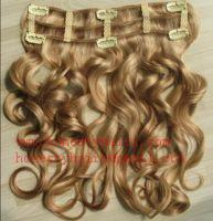 """Cheap 100% REMY hair extension, Clips in hair extension 8""""-34"""" in length,color can be selected. for sale"""