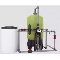Cheap PLC Boiler Water Softener System , Ion Exchange Industrial Wastewater Treatment for sale