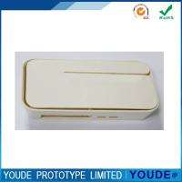 Cheap Small Order Vacuum Casting Prototyping Service Plastic Case With Beige Painting for sale