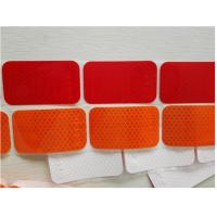 Cheap Segmented Reflective Conspicuity Tape , Solid Red Amber Reflective Sticker Custom Printed SAE for sale