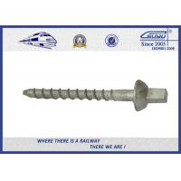 Quality Durable Sleeper Screws UIC864-1 SS Series Crews For Railway Sleepers wholesale