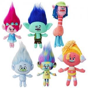 China 12 Inch Cartoon Stuffed Disney Plush Toys Lovely New Trolls For Children Gift on sale