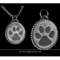 Cheap Round Paw Dog Pet ID Tags Disc Dog tag or Cat tag Engraved Custom LOGO for sale