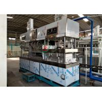 Cheap Tableware / Dishware Bagasse Fiber Pulp Molding Machine Semi Automatic for sale