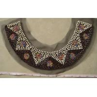 Cheap Wood and plastic bead collar for sale
