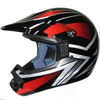 Motorcycle Helmet with ECE 22.05 Approval (KSC-01-31-BKRD)