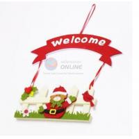 Cheap Fashion Style Felt Welcome Sign Board for Christmas Decoration for sale