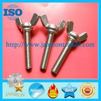 Buy cheap Wing nuts, Zinc plated butterfly lock wing nut,Stainless steel wing nuts,Brass from wholesalers