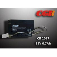 Cheap CB1207 Rechargeable Sealed Lead Acid Battery 12 V 0.7Ah , AGM Electronic Battery wholesale