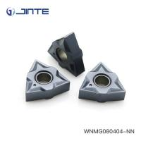 Cheap WNMG080404 CNC Carbide Inserts Tungsten Indexable Turning Cutters OEM ODM for sale