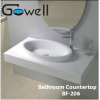 Solid surface shower base pans solid surface shower base - Eco friendly bathroom sinks ...