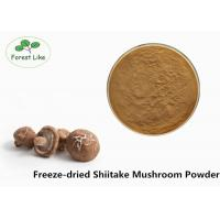 China Anti-cancer Freeze-dried Powder Shiitake Mushroom Powder For Supplement on sale