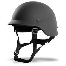 Cheap Level Two Bullet Proof Helmet, Four Point Type Bullet Resistant Helmet for sale