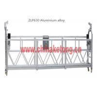 Cheap Safety Suspended Access Platforms For Building Maintenance With Steel Rope wholesale