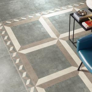 Cheap 60 X 60 Non Slippery Bathroom Floor Tiles Matt Finish Strong Stain Resistance for sale