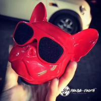 Cheap Jarra Aero Ball Nano Bluetooth Wireless Pug Dog Speaker In Red  made in chian grgheaadsets .com for sale