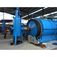 China 10Ton Batch type Waste Tire Pyrolysis Plant to Fuel Oil Carbon Black and Steel Wires on sale