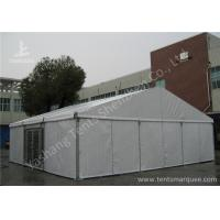 Cheap Aluminum Alloy Framed Heavy Duty Event Tents With Glass Door and Fabric Cover for sale
