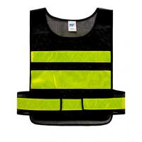 Cheap Fluorescent Vest for Traffic controller Sanitation worker Safety Reflective Apparel for sale