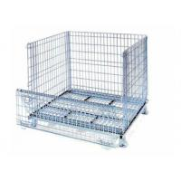 Cheap Q235 Wire bulk crates steel mesh storage & shipping containers&wire mesh container for sale